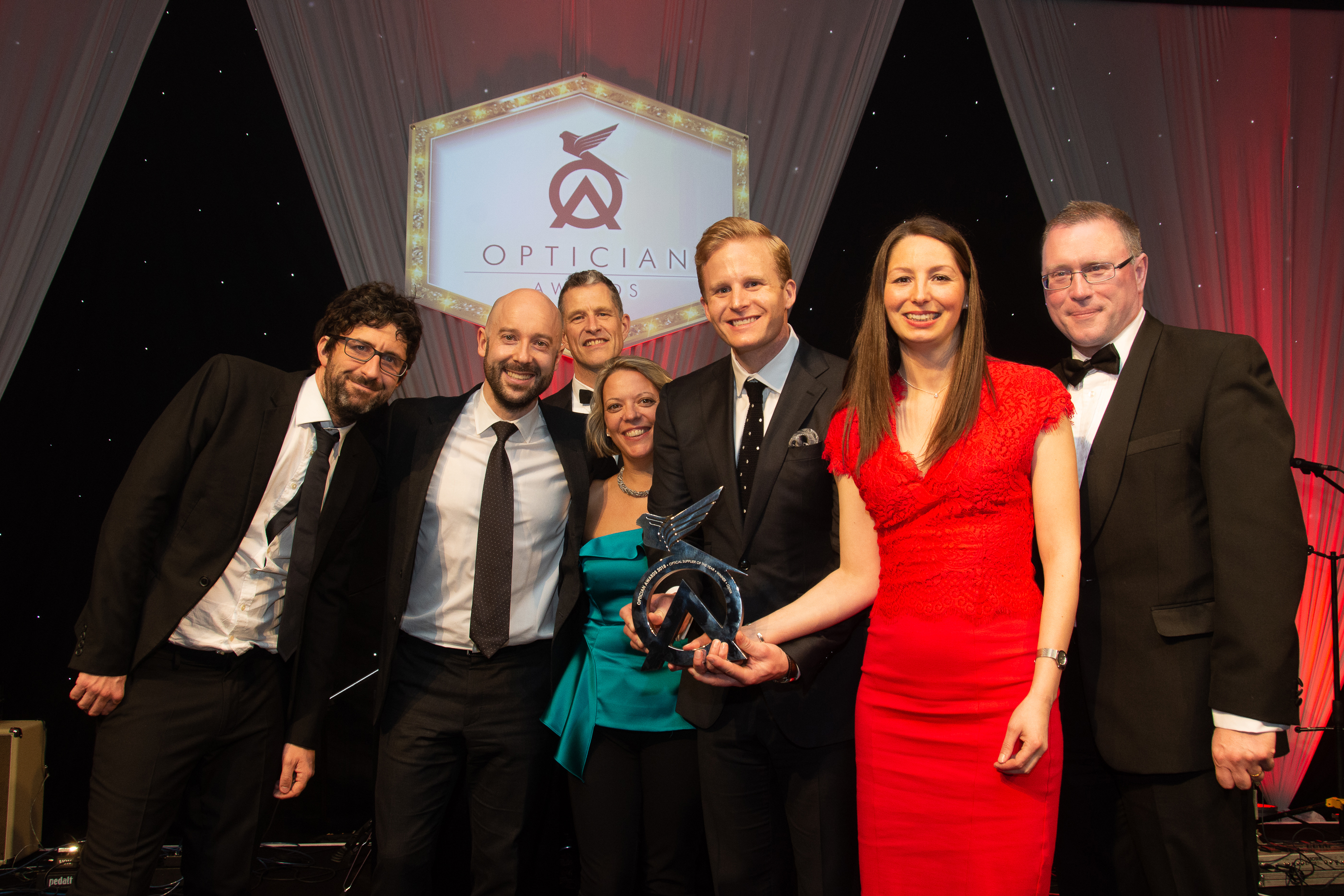 Optos crowned Optical Supplier of The Year